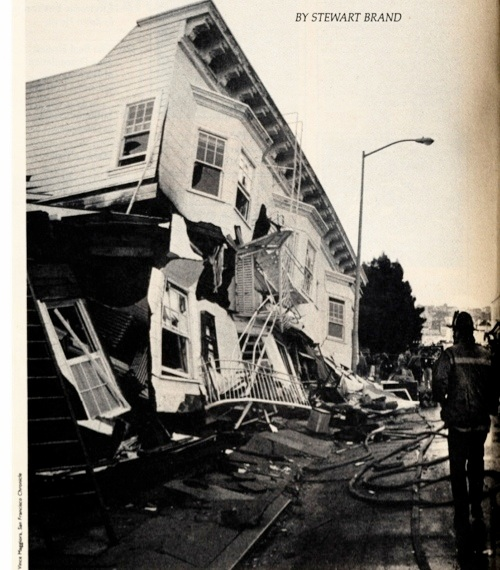 when volunteer brand first saw this former four story building at 2090 beach street minutes after the earthquake the scene was utterly tranquil